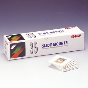 [매틴] 35mm slide mounts (100매용)  M-9426